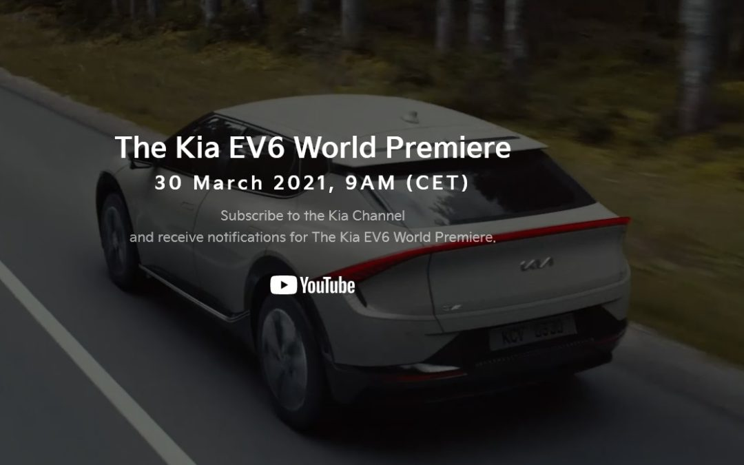Kia EV6 World Premiere Set for March 30th