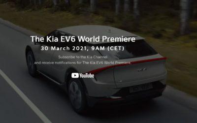 Kia EV6 World Premiere Set for March 30th