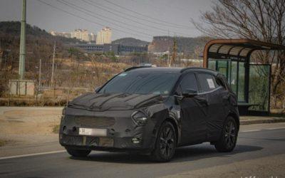 Kia Sportage Euro-spec Spied w/ Production Lights