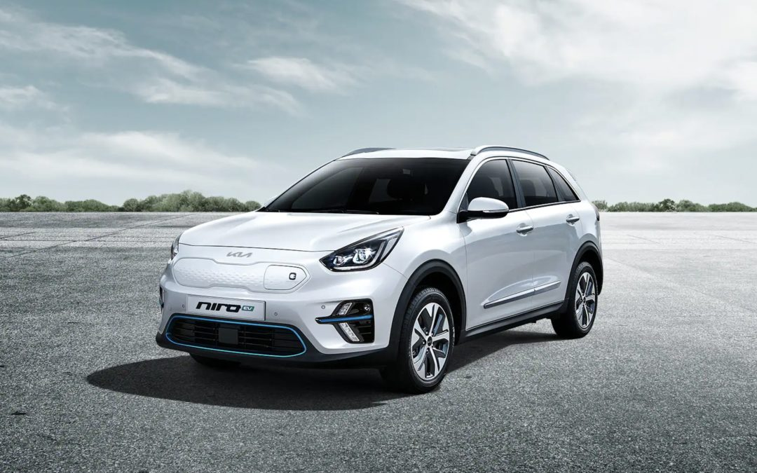 Say Hi to 2021 Kia Niro EV, with the New Logo