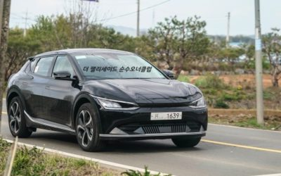 New Kia EV6 Real-World Pictures