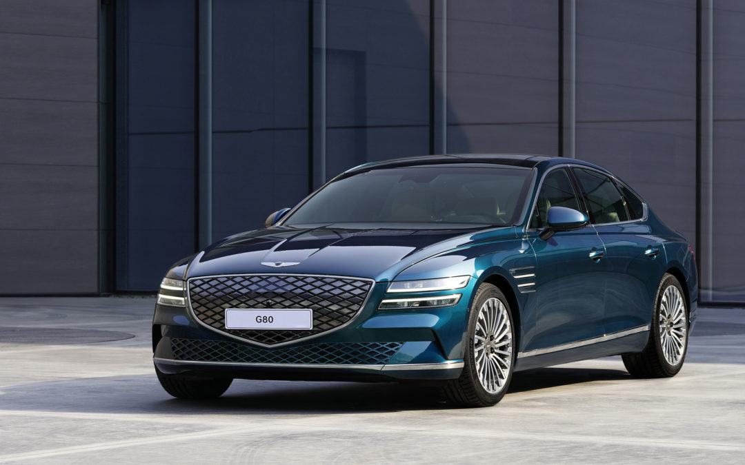 Genesis Premieres All-New eG80, Their First EV