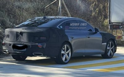 Genesis G80 Sport Spied Back on the Road