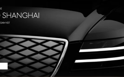 First Genesis EV, the G80e to Debut on April 19th