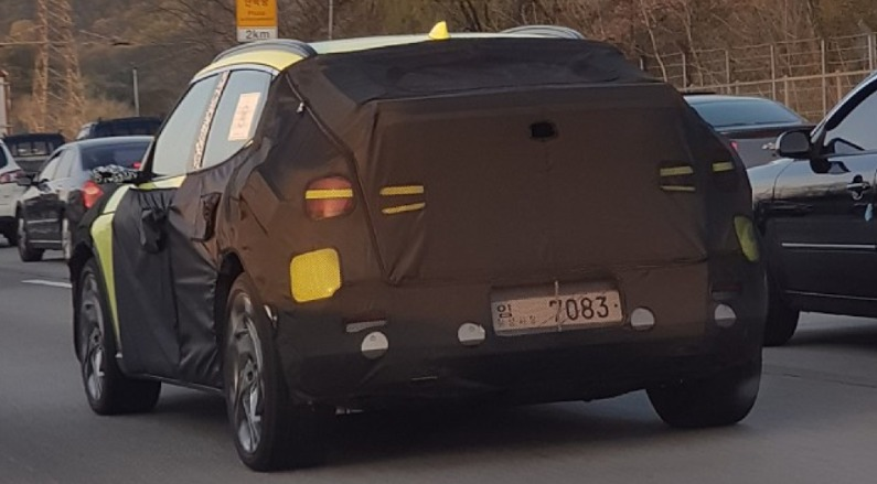 Genesis GV60 EV Crossover Spied w/ Unusual Color