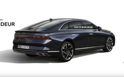 Next-gen Hyundai Grandeur Rendering