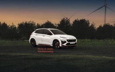 Hyundai Kona N New Picture Ahead April 27th Debut