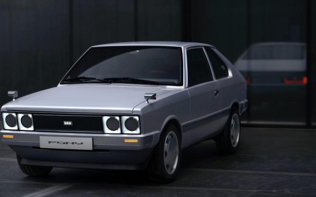 Hyundai PONY Heritage Concept