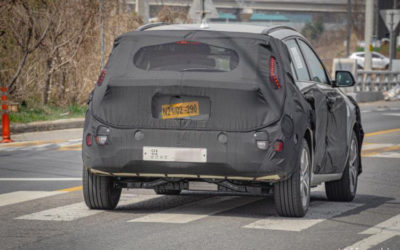 Next-Gen Kia Niro EV Spied for the First Time