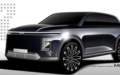 Hyundai IONIQ 7 SUV New Details, Rendering