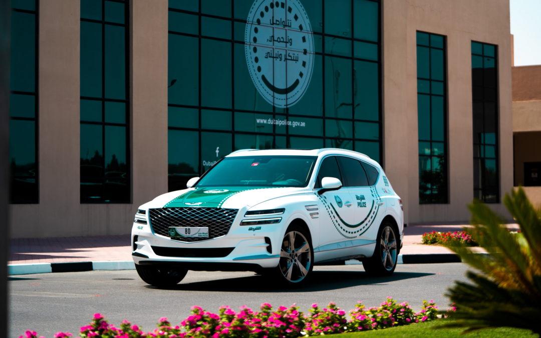 Genesis GV80 Joins Dubai Police Luxury Patrols