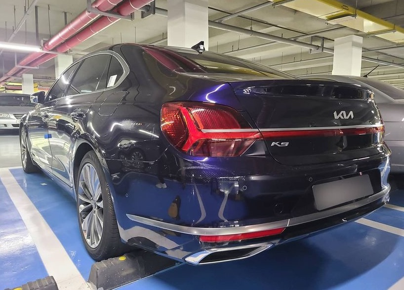 More Pictures of Kia K9 Facelift