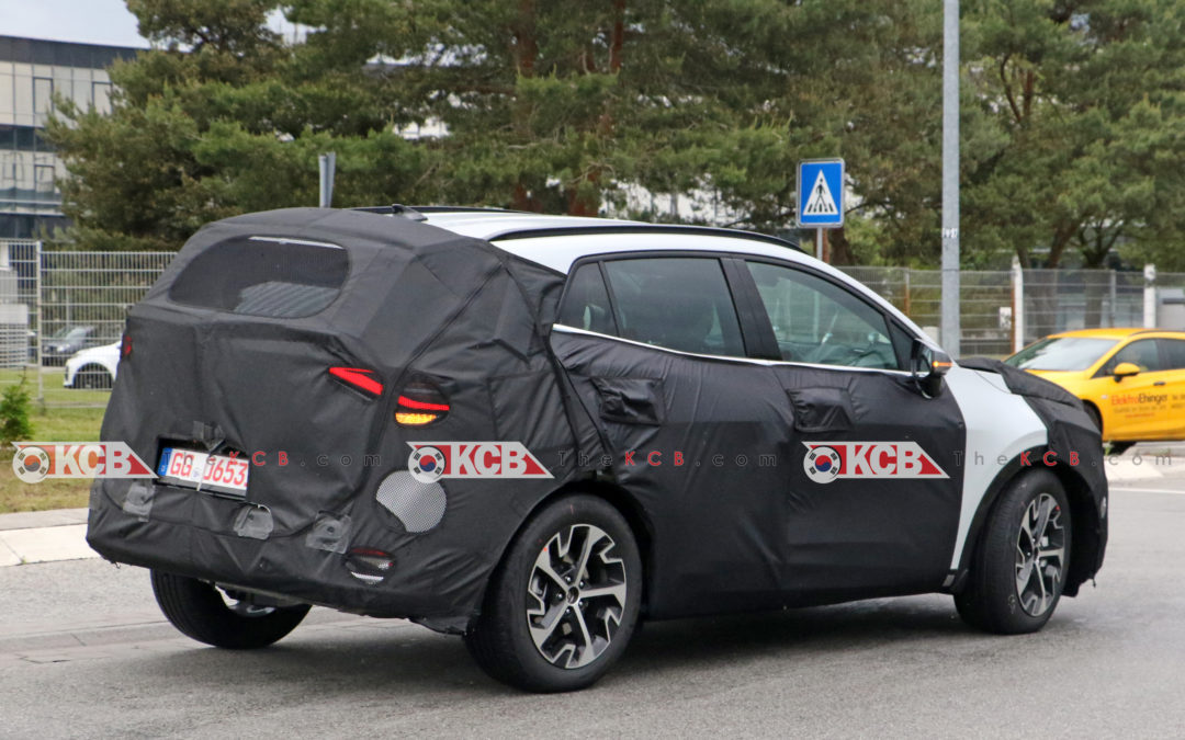 Kia Sportage Spied in Europe w/ Production Lights