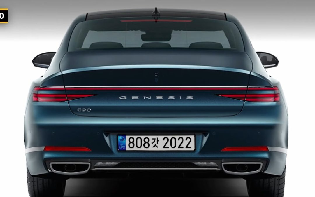 2022 Genesis G90 Rendering