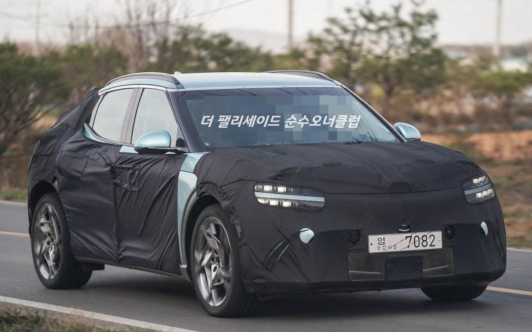 Genesis GV60 Spied In & Out