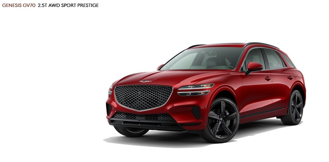 US-Spec 2022 Genesis GV70 Already Available for Reservation
