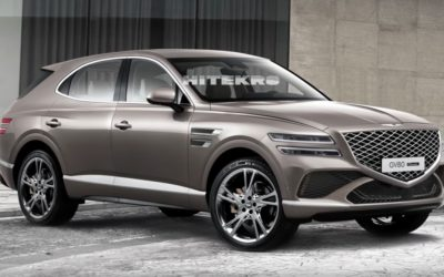 Genesis GV80 Coupe Rendered