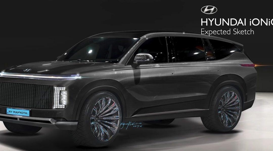 2024 Hyundai IONIQ 7 Rendering