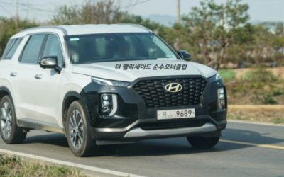 Hyundai Palisade Facelift Set For 2022 Debut