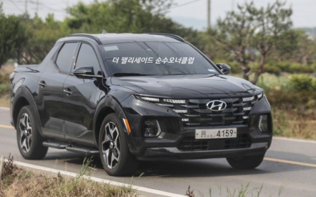 Hyundai Santa Cruz – New Real World Pictures