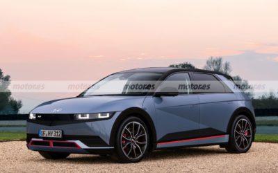 Hyundai Ioniq 5 N EV Rendering