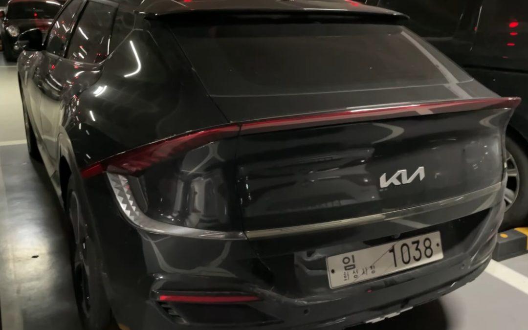 Kia EV6 GT-Line Caught in the Wild