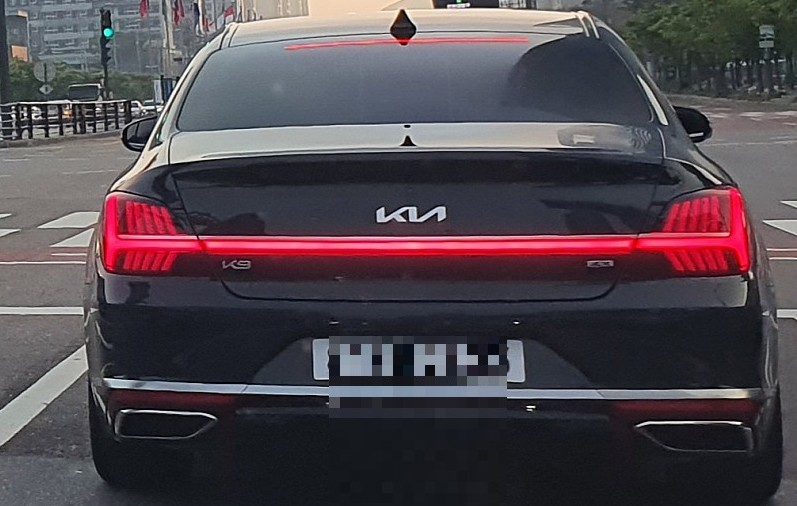 Kia K9 Facelift Leaked in South Korea