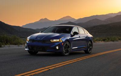 Kia America Launches 2022 K5