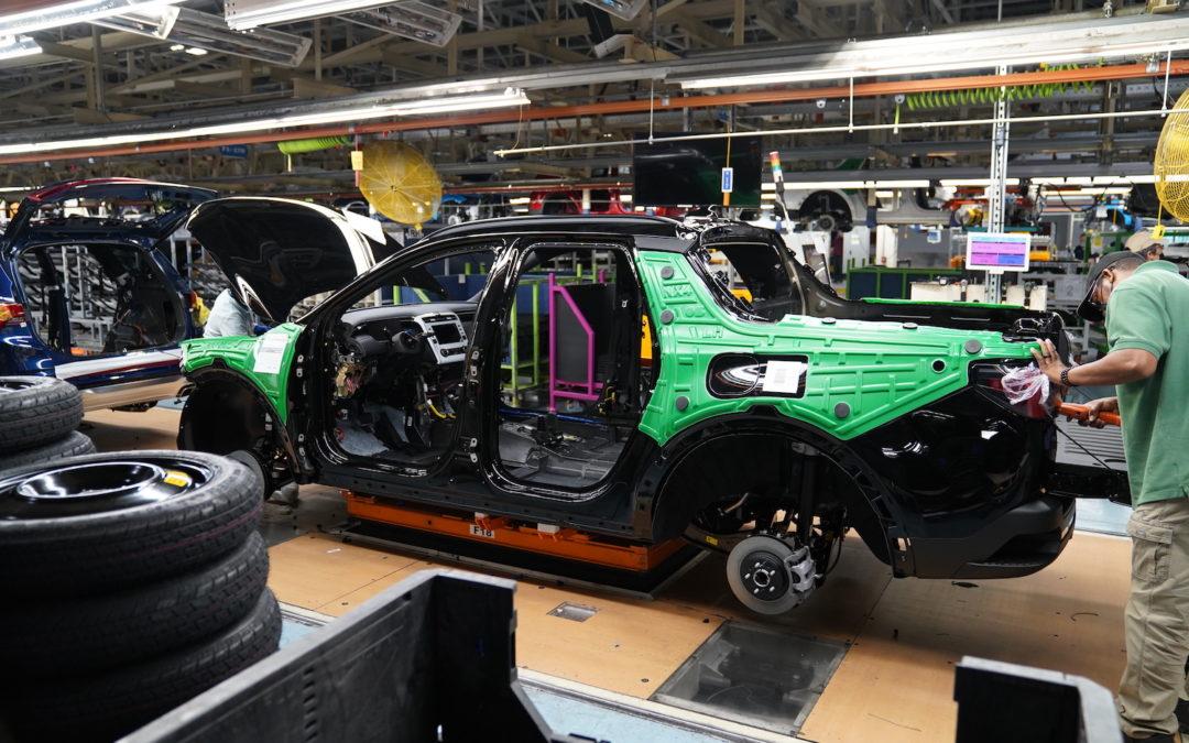 Hyundai's All-New 2022 Santa Cruz Enters Production