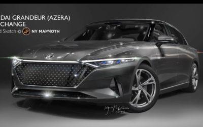 7th Gen Hyundai Grandeur Rendering