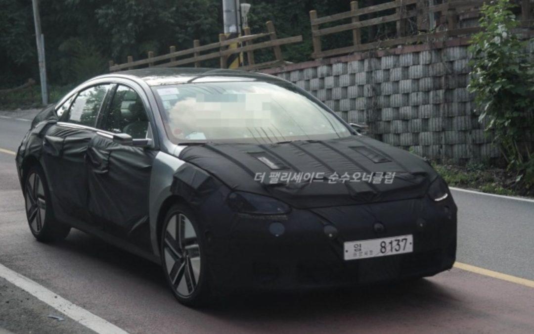 First-ever Hyundai IONIQ 6 Prototype Hits the Road