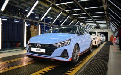 Hyundai Starts Production of i20 N & i20 N-Line