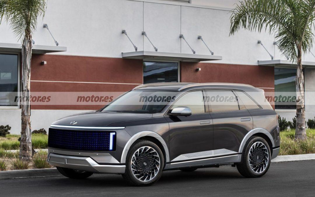 Future Hyundai IONIQ 7 Rendering