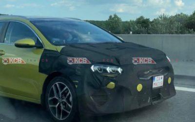 Kia CEED Tourer Facelift Spied in Slovakia