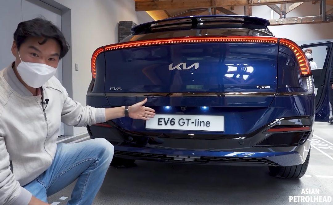 Kia EV6 First Walkaround Video