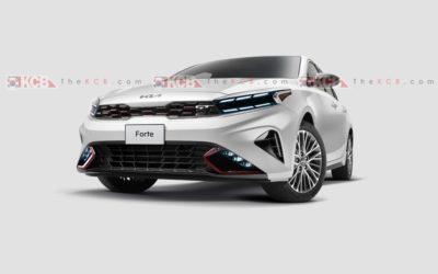 2022 US-spec Kia Forte Facelift Leaked