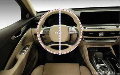 Kia K9 Facelift Interior Leaked