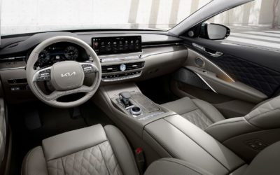 The New K9: Kia Announced Specs & Interior Pics