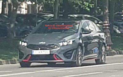 Kia Proceed GT Facelift Leaked!