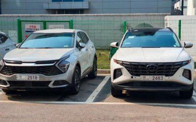 European Kia Sportage Caught Undisguised