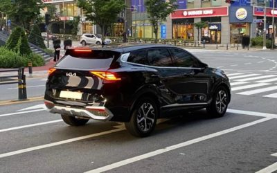Kia Sportage First Real-world Pictures