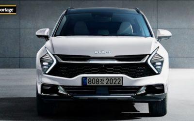 New Kia Sportage Front Rendering