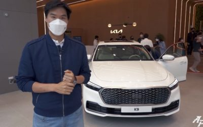 Kia K9 Facelift Walkaround Video