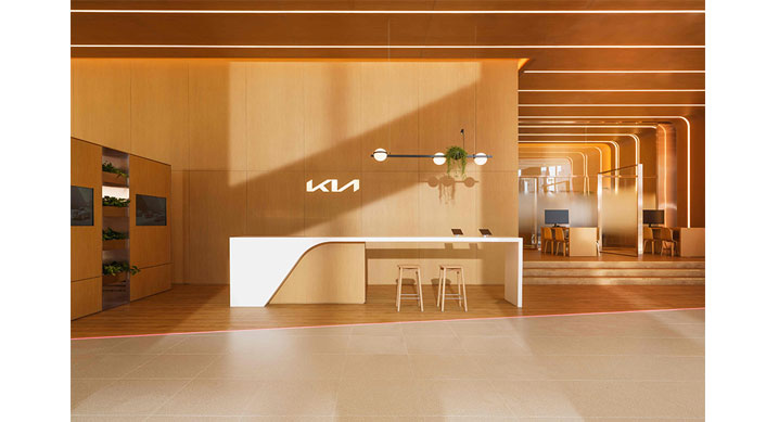kia unveils Kia store design 3