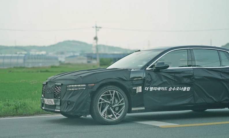 US-spec Next-gen Genesis G90 Spied for the 1st Time