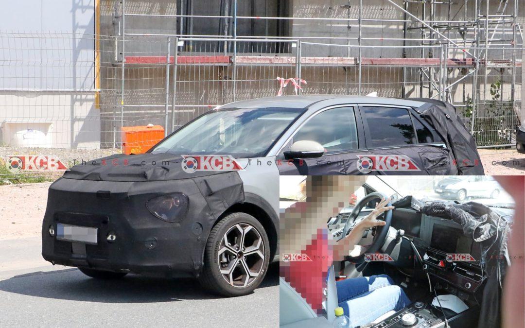 Kia Niro Spied With Undisguised Interior