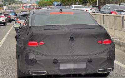 Genesis G90 Brake Light  Spied