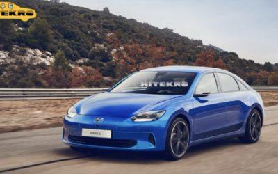 2023 Hyundai IONIQ 6 Rendering
