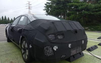 Hyundai IONIQ 6 Spied in Detail