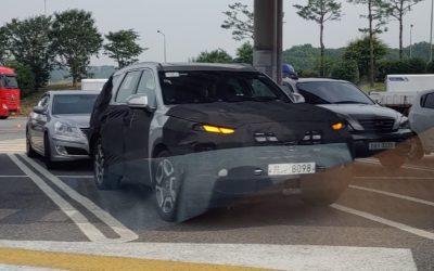 Hyundai Palisade Facelift Spied